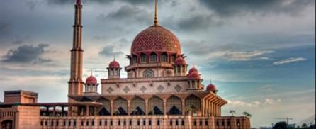 Putrajaya Mosque on Water