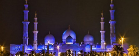 Grand Mosque – a.k.a. Sheikh Zayed Mosque