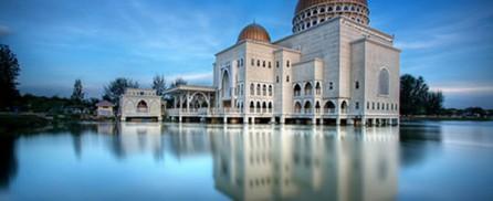 Mosque on Mirror