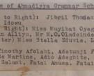 Names of Pioneer Students 1963