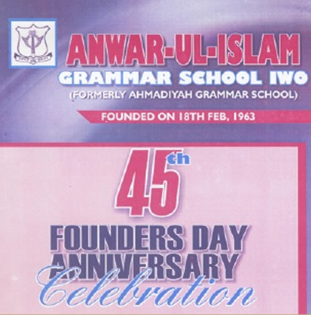 45th Founders day